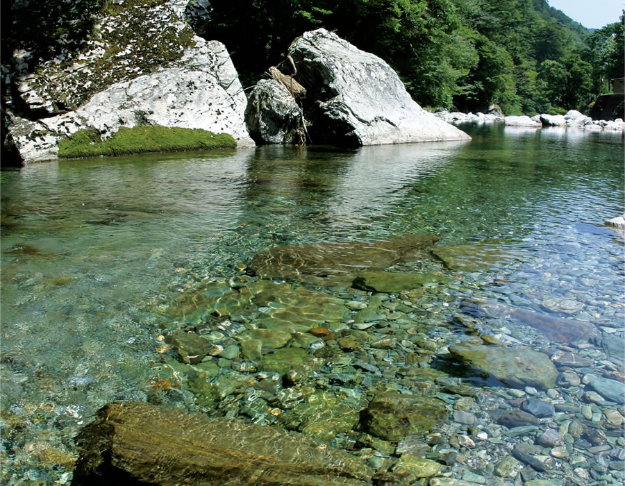 仁淀川風景